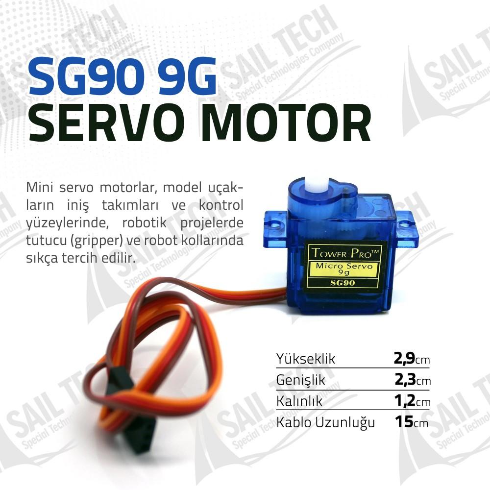 Tower Pro SG90 9G Servo Motor