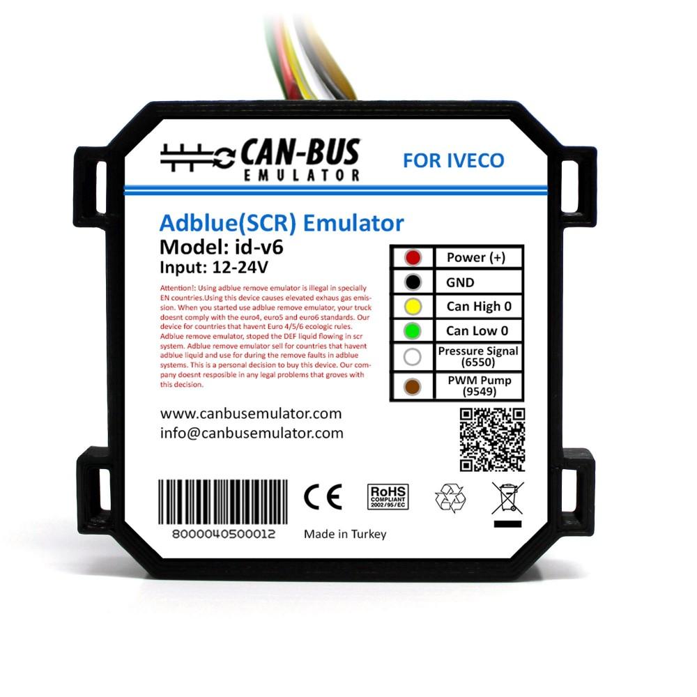 3 adet Iveco Euro 6 Adblue İptal Emülatörü