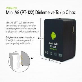 Mini A8 Mıknatıslı Kişi Takip & Dinleme Cihazı