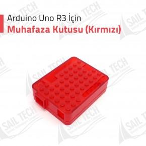 Arduino Uno R3 Muhafaza Kutusu (Kırmızı)