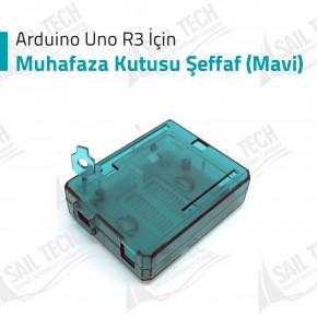 Arduino Uno R3 Muhafaza Kutusu (Mavi)