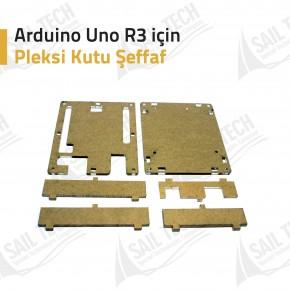 Arduino Uno R3 Pleksi Kutu Şeffaf
