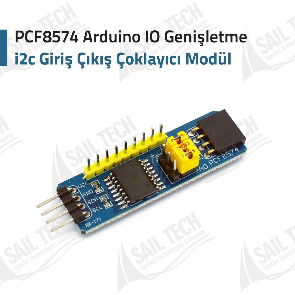 PCF8574 Arduino IO Genişletme i2c Giriş Çıkış Çoklayıcı Modül