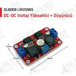 XL6009 LM2596S DC-DC Gerilim Dönüştürücü
