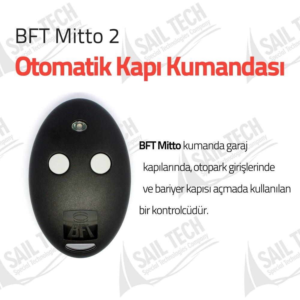 BFT Mitto 2 Otomatik Kapı Kumandası