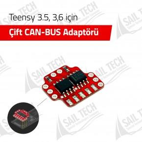 Çift CAN-BUS Adaptörü (Teensy 3.5, 3.6 için)