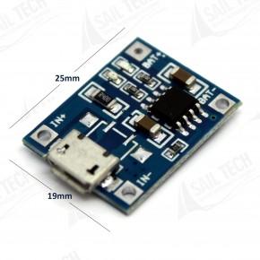 TP4056 Lityum Pil Şarj Modülü Micro USB