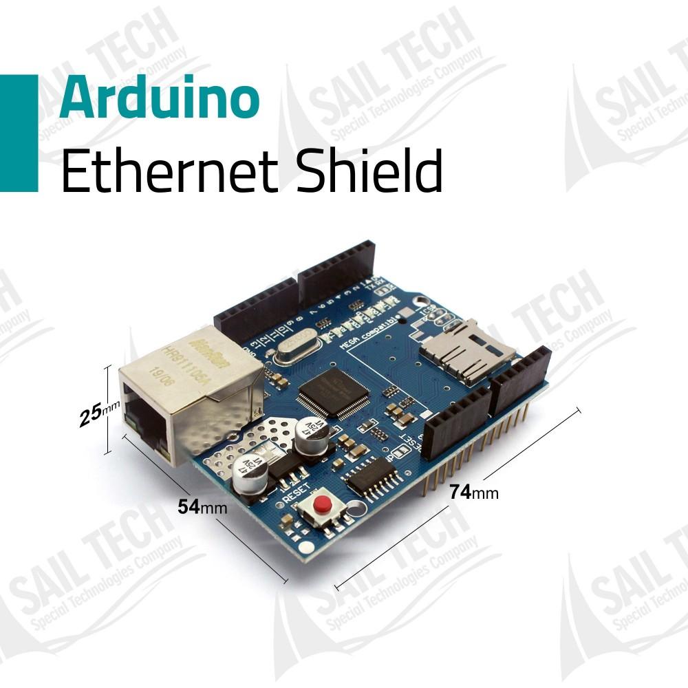Arduino Ethernet Shield - W5100