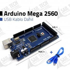 Arduino Mega 2560 R3 - CH340 + USB Kablo