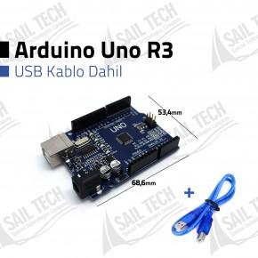 Arduino Uno R3 - CH340 + USB Kablo