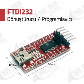 FT232RL USB-Uart Dönüştürücü Kartı 5V/3V3
