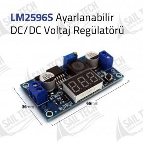 LM2596S DC/DC Voltaj Düşürücü Step Down LED